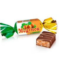 Медунок ОРЕХ 1кг*6уп Славянка конфеты