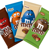 М&М шоколад 122гр*16шт Разноц.драже ШТУЧНО