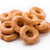 Колечки хруст с сахаром 1кг Баттерфляй печенье