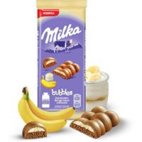Милка (Bubbles Банан-Йогурт) 97гр*16шт шоколад ШТУЧНО