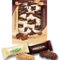 (КОРОБ 900гр) Мультизл. АССОРТИ 900гр Шоколатье конфеты в картонной упаковке