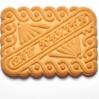 Д Юбилейное (простое) 5кг Далматово печенье