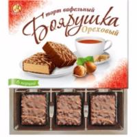 Тр Боярушка орех 230гр*12шт ваф.торт