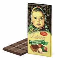 Аленка 200гр*17шт (Фундук) шоколад Кр.Окт ШТУЧНО