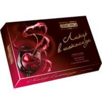 Ликер в шоколаде 153гр*32шт Славянка Набор конфет