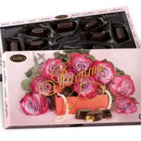 Розы с жемчугом 130гр*14шт Кутюрье наборы конфет