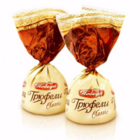 Трюфели (Какао) 2кг Победа конфеты