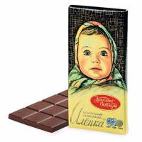 Аленка 200гр*18шт (Молочный) шоколад Кр.Окт ШТУЧНО