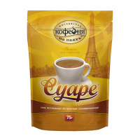 Кофе Коф. на паяхъ Суаре 75гр М/У (12)