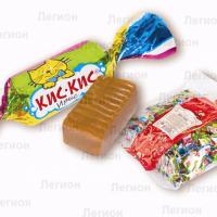 Ирис Кис Кис 1кг*8уп Об. Кондитеры конфеты