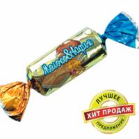ВС Молоко и вафли 1кг*6уп Баян Сулу конфеты